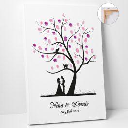 Wedding Tree Classic Baum 1 mit Katzen